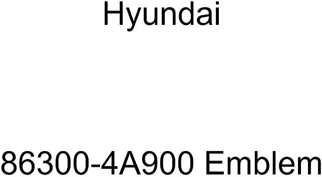 HYUNDAI Genuine 86300-4A900 Emblem