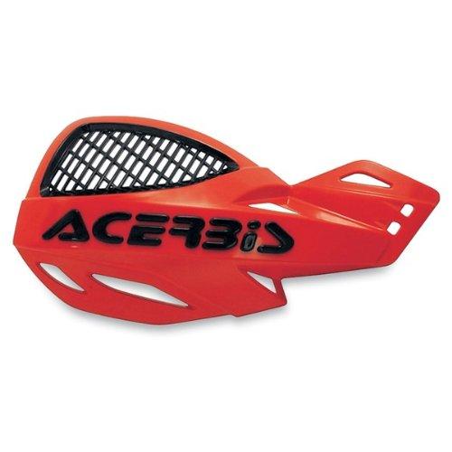 Acerbis Flag - Acerbis 2072670004 vented uniko handguards (red) (2072670004)