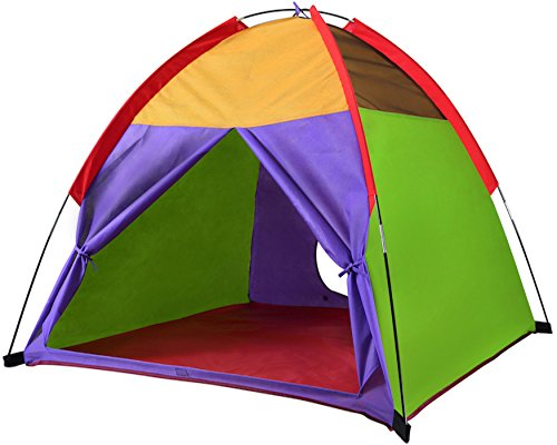 "Alvantor Kids Tents Indoor Children Play Tent For Toddler Tent For Kids Pop Up Tent Boys Girls Toys Indoor Outdoor Playhouse Camping Playground 8010 Rainbow 48""x48""x42 by Alvantor"
