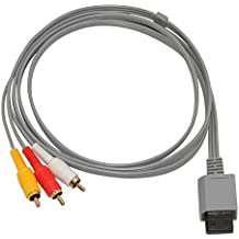 Mcbazel Composite Audio Video AV Cable for Nintendo Wii