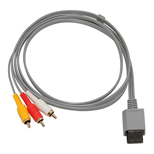 Mizar Composite Audio Video AV Cable for Nintendo Wii