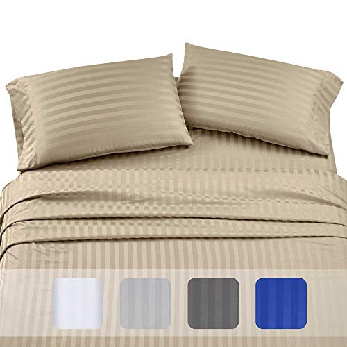 Premium Quality 500 Thread Count 100% Pure Cotton Sheets - 4