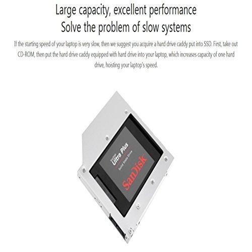 Rack Disco Duro para Lenovo ASUS DELL HP Acer 2.5 Pulgadas 5/7/9.5 ...