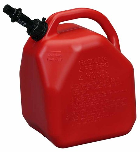 - Scepter ECO Jerry Can with Child Resistant Closures (5-Gallon, Gas)