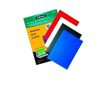 Fellowes 5471201 - Pack con 50 portadas de polipropileno, A3, transparente: Amazon.es: Oficina y papelería
