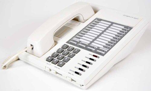 Vodavi Starplus Digital 1412-08 Enhanced White Key Phone