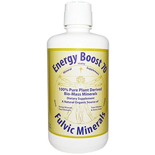 Morningstar Minerals  Energy Boost 70  Fulvic Minerals  32 Fl Oz  946 Ml    2Pc