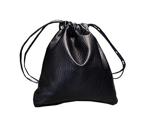 COCO clothing - Bolso bandolera Mujer Negro Negro 35 * 1 * 34 cm Negro
