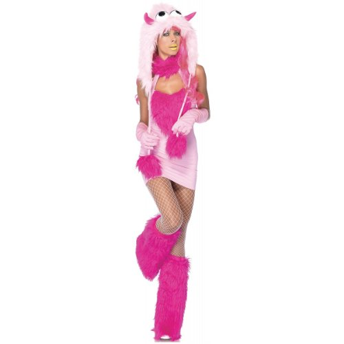 Leg Avenue Costumes 2Pc.Pink Puff Halter Dress and