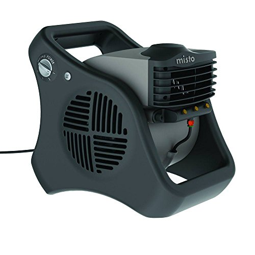 Lasko 7050 Misto Outdoor Misting Fan - Features Cooling Misters, Ideal for Camping, Patios, Picnics, & more (Patio Mister T)
