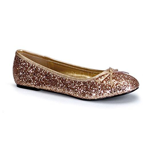 Higher-Heels - Cerrado de material sintético mujer dorado - dorado