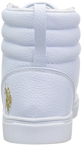 U s White Oxford polo Assn Women's Paisley gold AAwrqSd