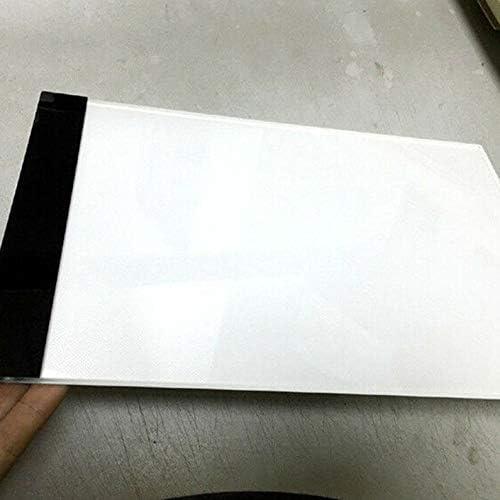 A4 Stufenloses Kopierbrett LED-Licht Schreibtisch Kalligraphie Zeichenbrett Normale Farbe deYukiko A3