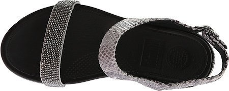 FitFlop Womens Banda Crystal Snake Sandal Mink ZPpu3
