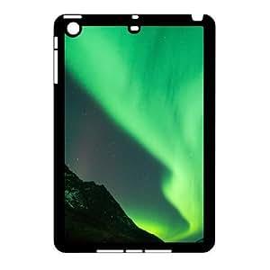 3D Aurora Borealis Series, IPad Mini 2D Cases, Aurora Borealis 7 Cases For IPad Mini 2D [Black] by icecream design