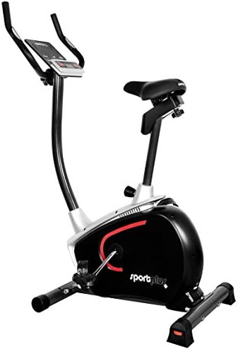SportPlus Bicicleta Estática, SP-HT-9500-E-B: Amazon.es: Deportes ...