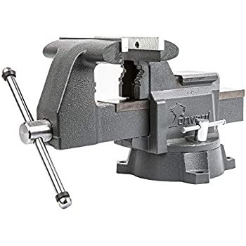 Eastwood 8 inch Heavy Duty Industrial Solid Iron Bench Vise with Anvil Body Part