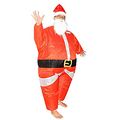bestsight Inflatable Christmas Costume Adult Kids Fancy Dress Cosplay