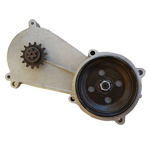 JCMOTO Transmission Reduction Gear Box Gearbox For 47cc 49c 2-Stroke Pocket Mini Bike