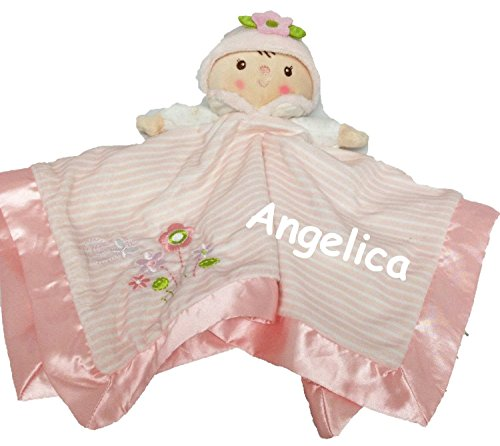 personalized-claire-doll-lil-snugglers-baby-snuggle-blanket-gift-13-inches