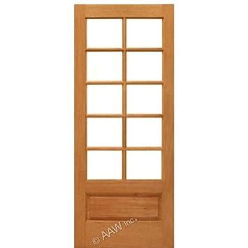 Interior Door Mahogany 10-Lite Panel - AAW Doors Inc.