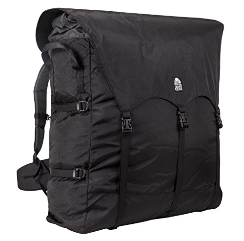 Granite Gear Traditional #4 Outfitter Series Portage Backpack - Black/Chromium