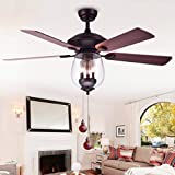 Ceiling Fan Pull Chains Pendant 12 inch Antique