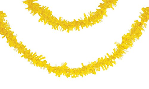 Creative Converting 315315 Tissue Garland, 25', Mimosa ()