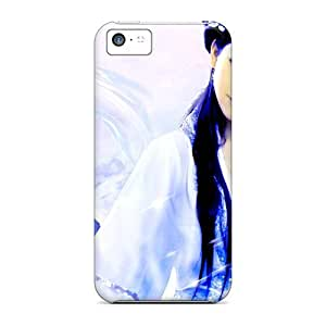 New Cute Funny Oriental Beauty Case Cover/ Iphone 5c Case Cover by runtopwell