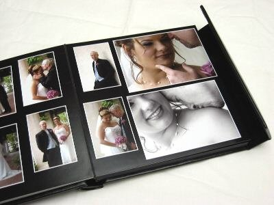 8x10 self mount digital photo wedding album 20 pages