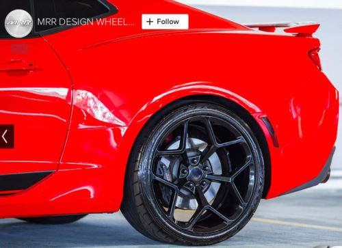 MRR Wheels M228 20x10//20x11 Chevy Camaro 5x120 23//43 Black