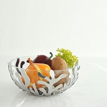 Grey Alessi Mediterraneo Fruit Holder and Bowl