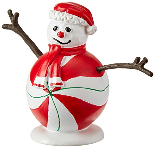 (Department 56 Accessories for Villages Peppermint Snowman Accessory Figurine)