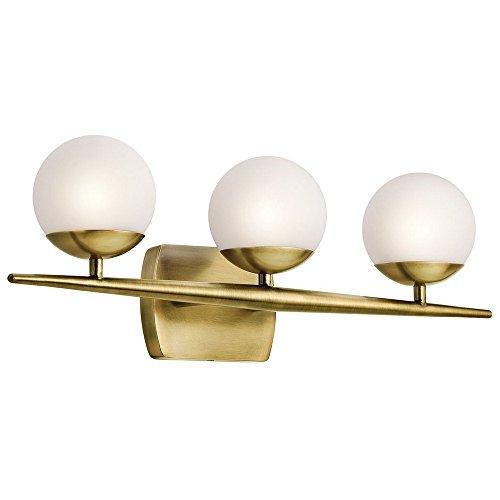 Kichler Jasper 45582 3 Light Bathroom Vanity Light