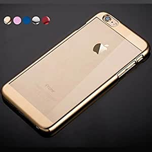 LCJ BIG D Metal Plated PC Back Case for iPhone 6 Plus(Assorted Color) , Blue