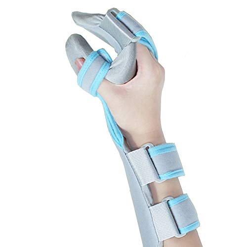 Medical Functional Resting Orthosis Hand Wrist Splint for Tendinitis, Inflammation, Carpal Tunnel, Tendonitis, Splint for Wrist and Forearm Support and Alignment (Right/M) ()