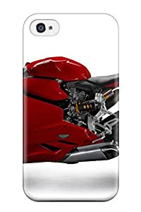4/4s Scratch-proof Protection Case Cover For Iphone/ Hot Ducati Motorcycle Phone Case