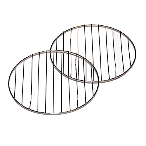 Cake Cooling Racks- Set of 2 Round 8 Inch Chrome Cooling Cak