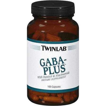 Twinlab Gaba-Plus Capsules With Inositol & Niacinamide, 100ct