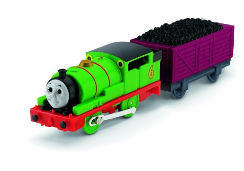 Thomas Yearbook - Fisher-Price Thomas & Friends TrackMaster, Talking Percy