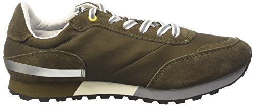 Vespa Footwear Unisex Adults' Corsa Trainers, Blue Green (Verde Militare 82)