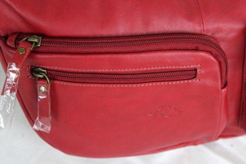 81206 en cuir SURPRISE CADEAU travers porté réf Rouge sac Katana pwvqxFSAn