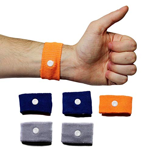- Chesterman's Motion Sickness and Vertigo Relief Wristbands (Pk 6-3 Pairs) Natural Anti Nausea Acupressure Bracelets for Motion, Vertigo and Morning Sickness. Travel Essential - Sea, Car, Plane, Train