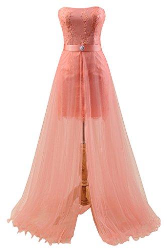 2 Piece Strapless Wedding Dress - 9