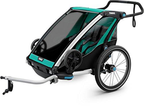 Thule Chariot Chariot Lite Stroller Blue Grass/Black, 1-2 Kid