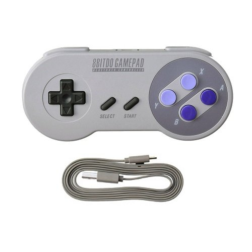 SN30 Game Controller - PC Mac Linux (Difference Between Super Famicom And Super Nintendo)
