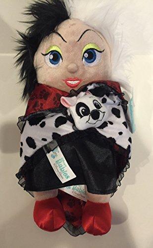 Disney Park Baby Cruella De Vil in a Blanket 10 inch Plush Doll NEW -