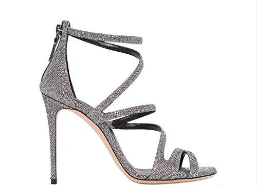 Heel gris Bride Miyoopark femme 4 Cheville Grey 3