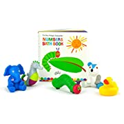 The World of Eric Carle, The Very Hungry Caterpillar Bath Book & 5 Squirty Toys Gift Set
