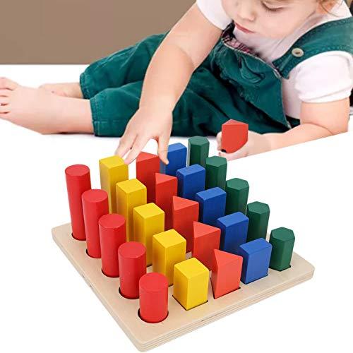 Stapelblokken, bouwstenen set, houten voor kinderen, verjaardagscadeaus, jongens en meisjes, vroeg onderwijs